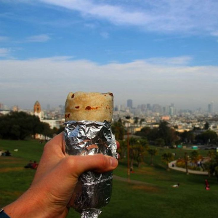 The best burritos in The Mission-San Francisco