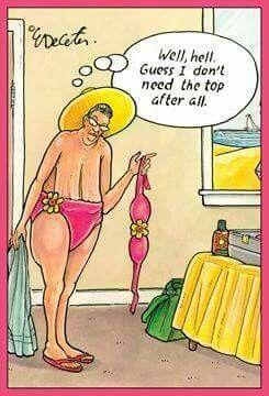 No need for bikini top