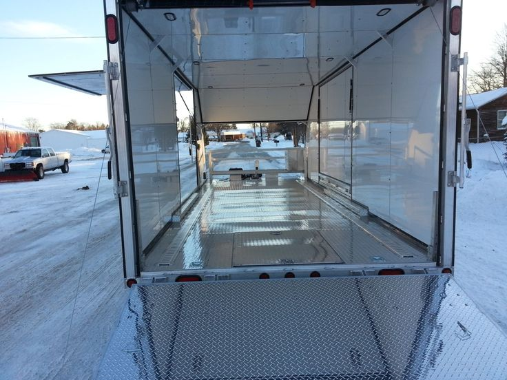 34 best Enclosed trailers images on Pinterest | Enclosed trailers ...