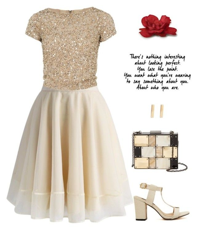 """""""Untitled #989"""" by fatimaflores123 ❤ liked on Polyvore featuring Chicwish, Alice + Olivia, Sondra Roberts and Jennifer Meyer Jewelry"""