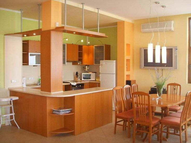 28 best images about orange walls on pinterest northern - Peach color kitchen ...