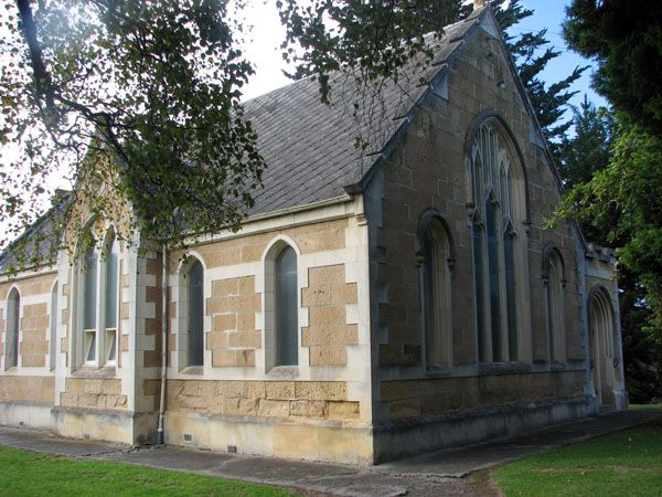 Hampden Presbyterian Church in Otago, New Zealand
