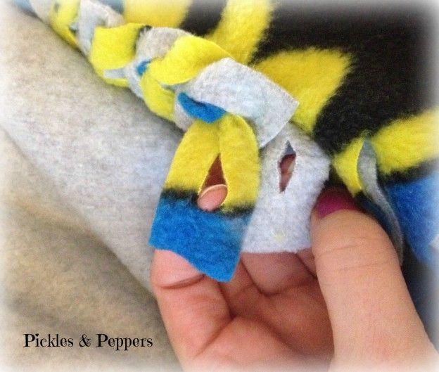 Braided Edge Fleece Blanket 2