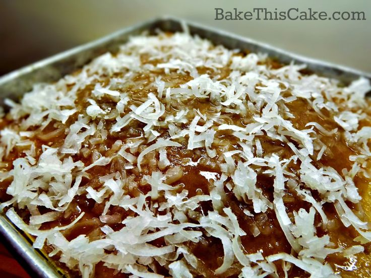 Sprinkle Cake Recipe Joy Of Baking: Lazy Daisy Cake Joy Of Baking