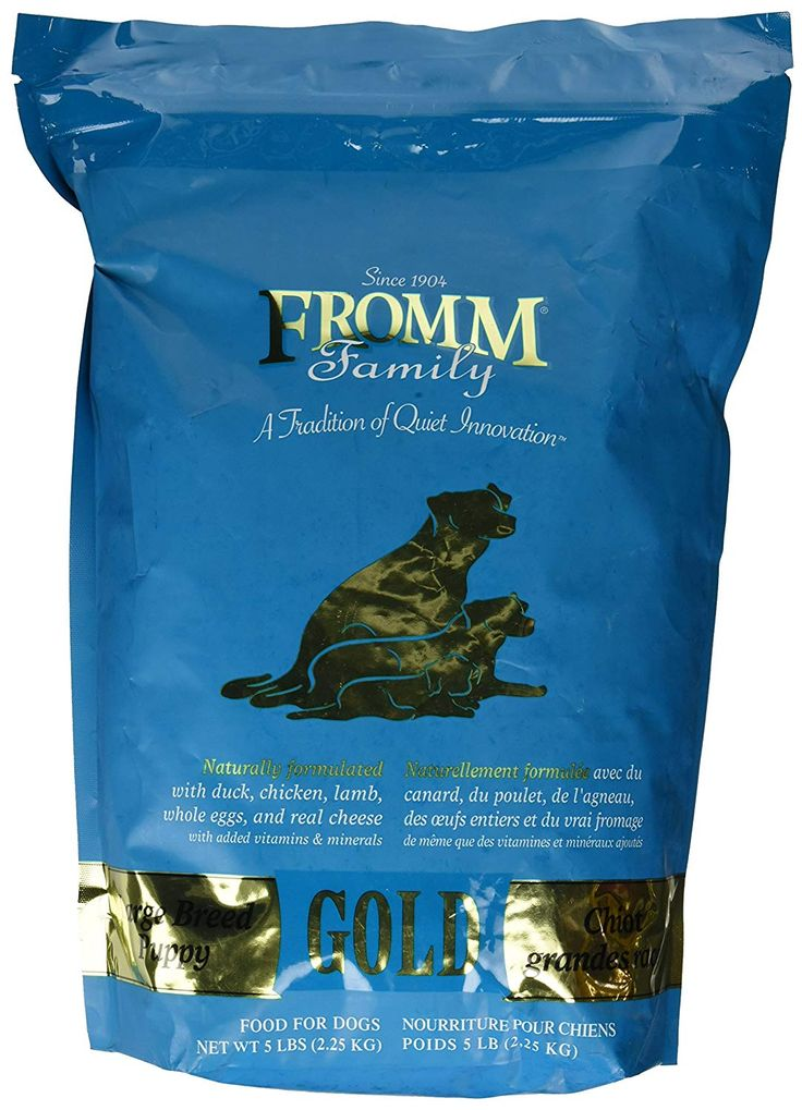 Fromm Gold Puppy Food Large Breed Complete Review https