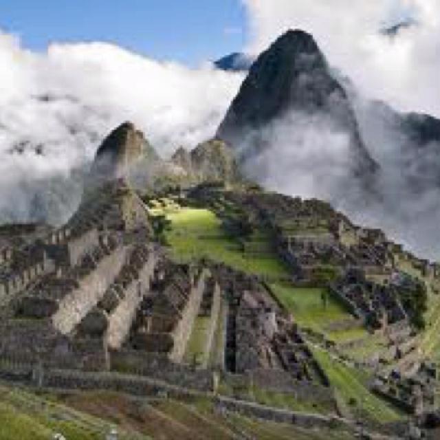 Machu Pichu- Peru