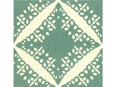 Groundworks PUNCH LINEN LAGOON GWF-2731.53 - Lee Jofa New - New York, NY, GWF-2731.53,Lee Jofa,Print,0020,Light Green, White,Green, White,S,Softened,Up The Bolt,David Hicks III by Ashley Hicks,David Hicks,USA,Geometric,Multipurpose,Yes,Groundworks,No,David Hicks III by Ashley Hicks,PUNCH LINEN LAGOON