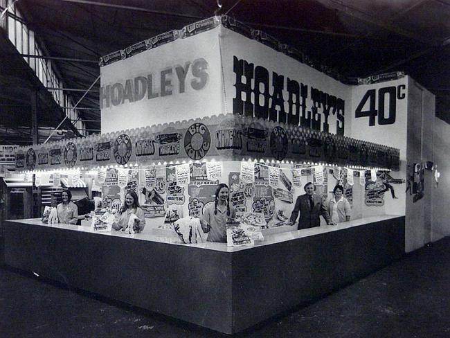 Hoadleys Showbag Stand - Royal Easter Show 1960s