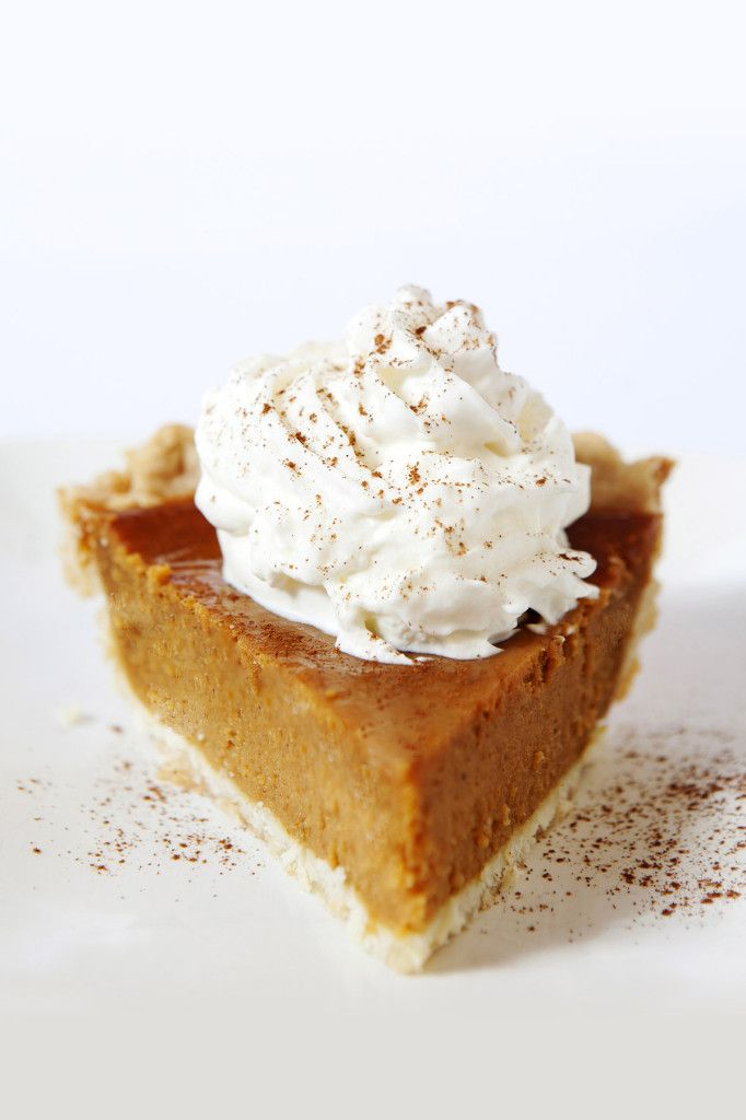 No Thanksgiving meal is complete without a slice (or two) of pumpkin pie. This traditional recipe features a crust made with Colavita Olive Oil instead of butter, proving that olive oil can make a flaky and healthier pie crust!  http://main.colavita.com/colavitas-pumpkin-pie/
