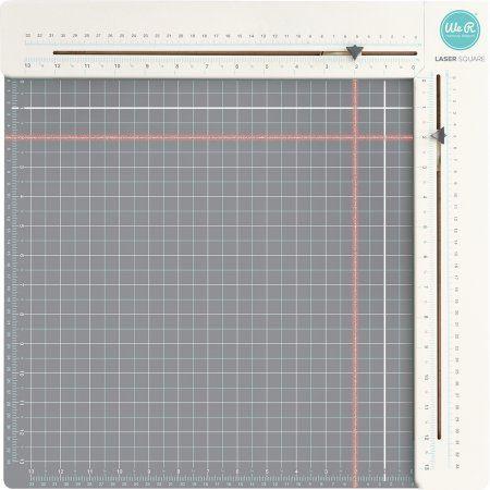 Laser Square & Mat-, Pk 1, We R Memory Keepers