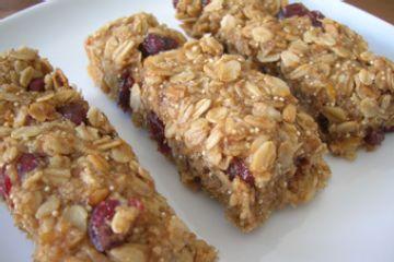 homeade granola bars