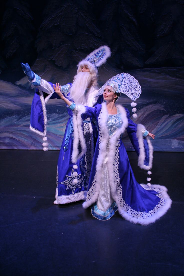 moscow ballet Father Frost (Ded Moroz) and his granddaughter, the Snow Maiden (Snegurochka), arrive during this holiday period—they are the equivalent of our Santa Clause and his elves, bringing gifts and merriment to Russian children.