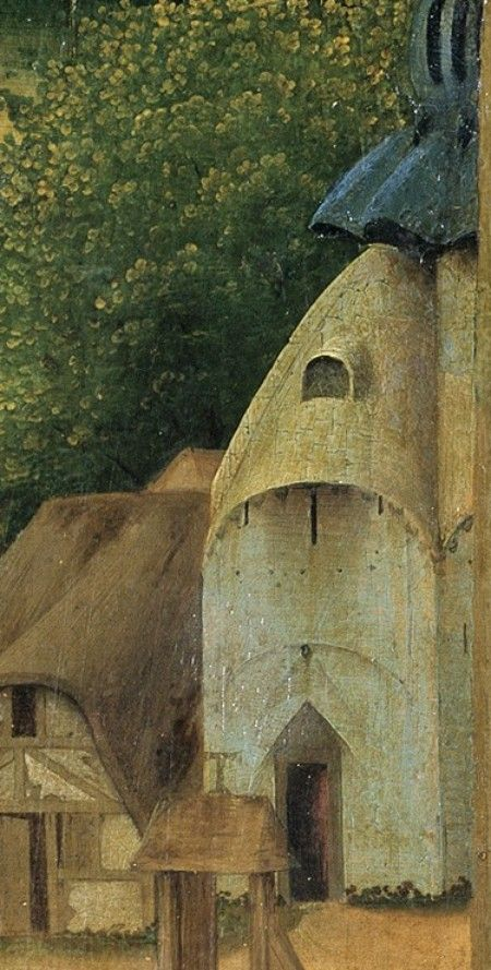 Detail from The Temptation of Saint Anthony, Hieronymous Bosch, After 1490