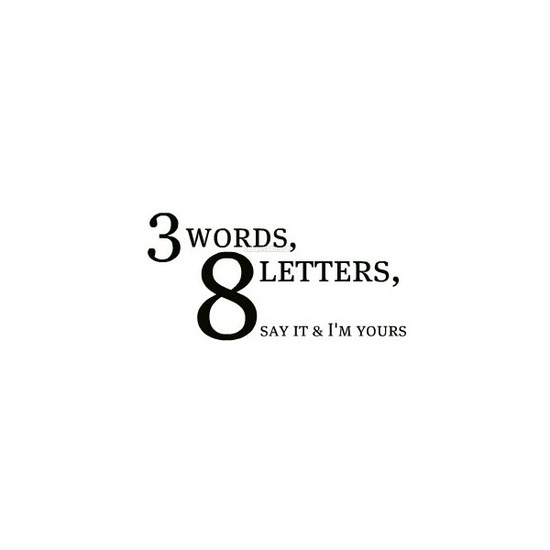 More Than Sayings: Three words, eight letters