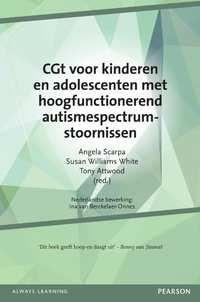 CGT Voor Kinderen En Adolescenten Met Hoogfunctionerend Autismespectrumstoornissen--boek cover voorzijde