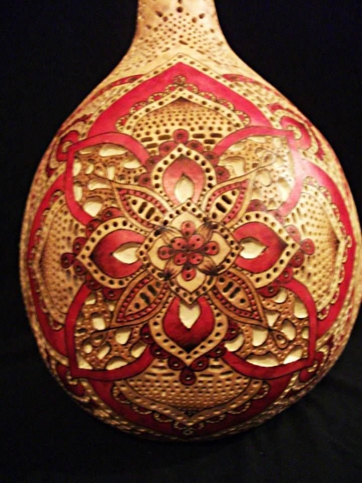 Best images about natural gourd carvings on pinterest