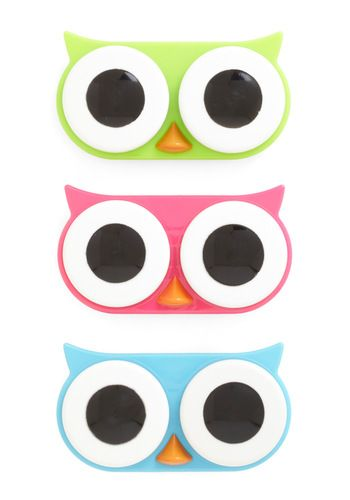 I See Whoo Contact Case, ModCloth. So adorable!!