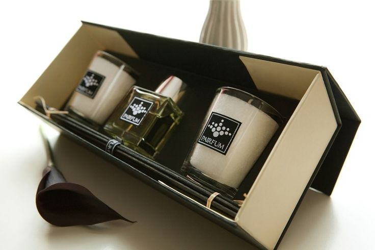 PAIRFUM candle and reed diffuser gift box