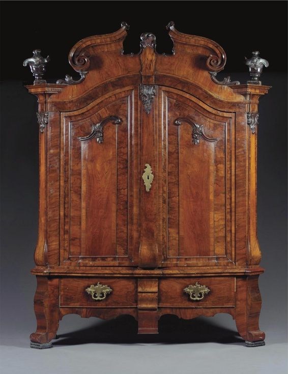 A LARGE PRESS CUPBOARD GERMAN, LATE 18TH CENTURY. Royal FurnitureEuropean  ... - 626 Best Antiques Images On Pinterest Antique Furniture, Carved