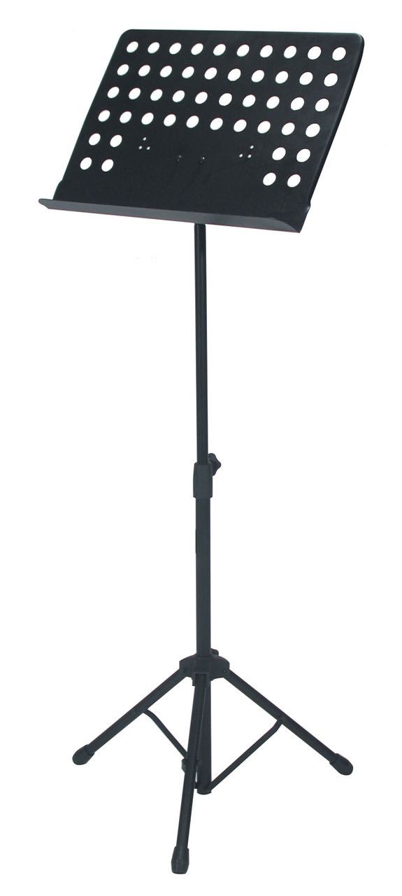 """Quik Lok MS-330 Orchestra Sheet Music Stand w/bag w/ Nylon carrying bag Features Sheet music holder dimensions: Width: 18.7"""" - 47.5 cm Height: 13.6"""" - 34.5 cm Lip depth: 2"""" - 5 cm Height adjustment ra"""