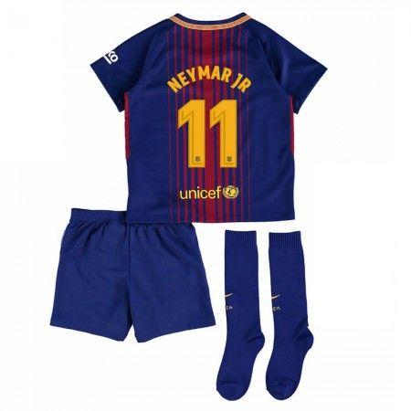 Barcelona Neymar Jr 11 Hemmatröja Barn 17-18 Kortärmad  #Billiga #fotbollströjor