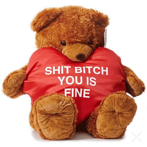 You Is Fine Teddy Bear Valentines Day Gift – Teddy Bear Valentines Day Card