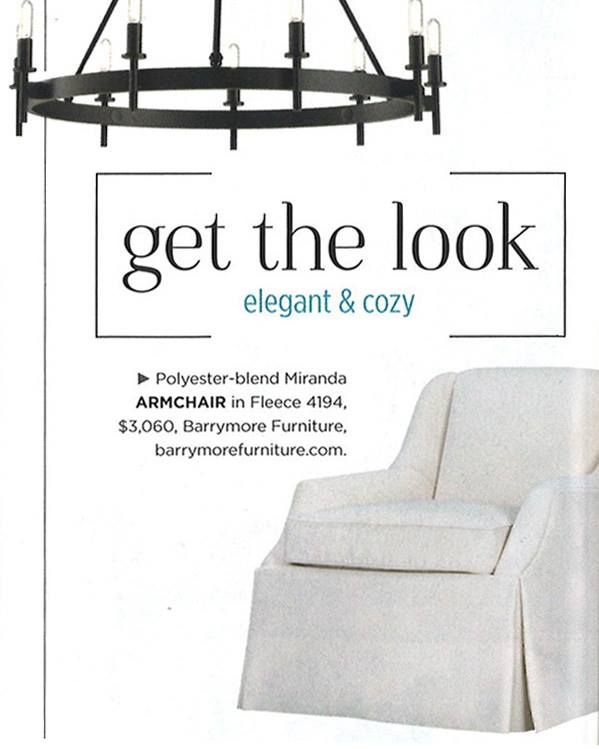 See our cool summer look in August Style at Home.