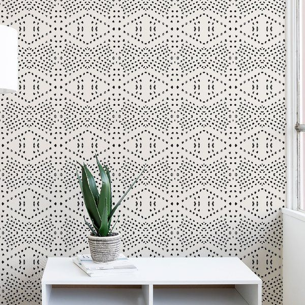 Holli Zollinger Tile 10 L X 24 W Matte Peel And Stick Wallpaper Roll Wallpaper Accent Wall Peel And Stick Wallpaper Wallpaper Roll