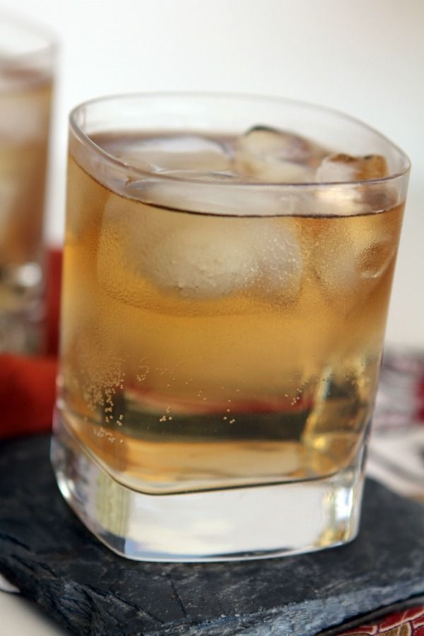 A classic favorite: Seven & Seven.   2 oz. Seagram's 7 Whiskey + 7-Up on the rocks.