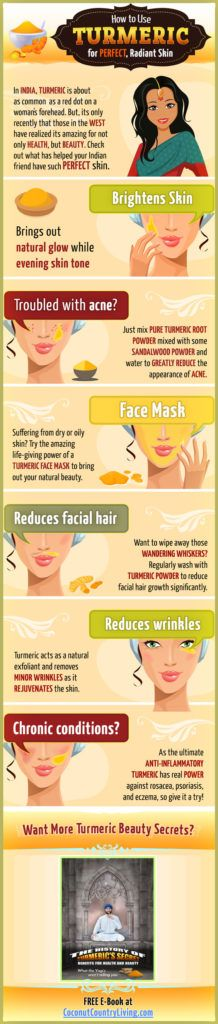tips how to get perfect beautiful skin from turmeric use