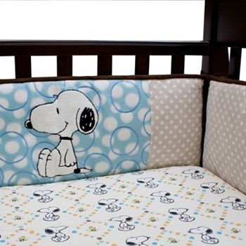 Lambs and Ivy BFF Snoopy Crib Bumper $80.00