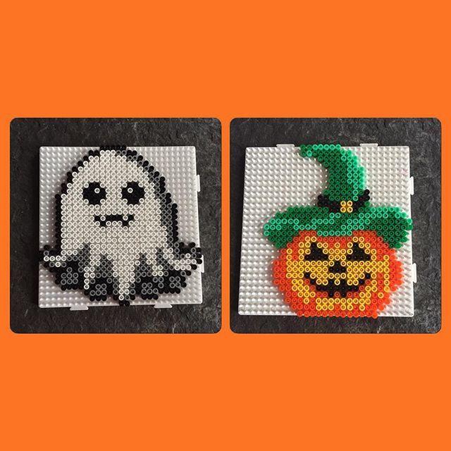 Halloween hama beads by  jritaalm