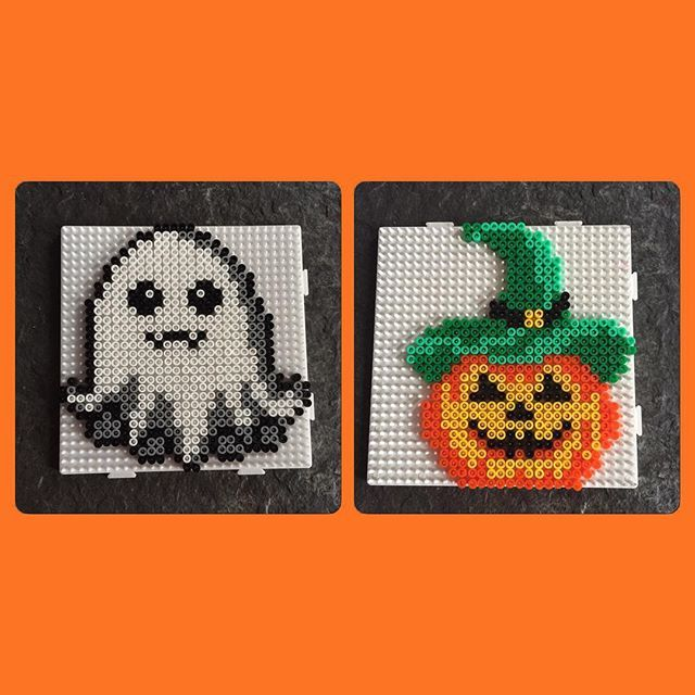 Halloween hama beads by jritaalm