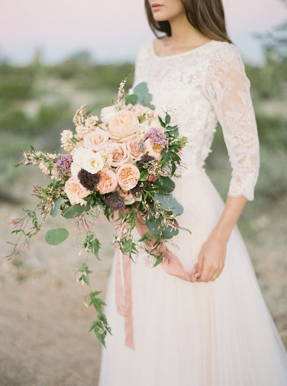 Organic and Earthy Arizona Desert Wedding Ideas | Wedding Sparrow | Of Georgia…