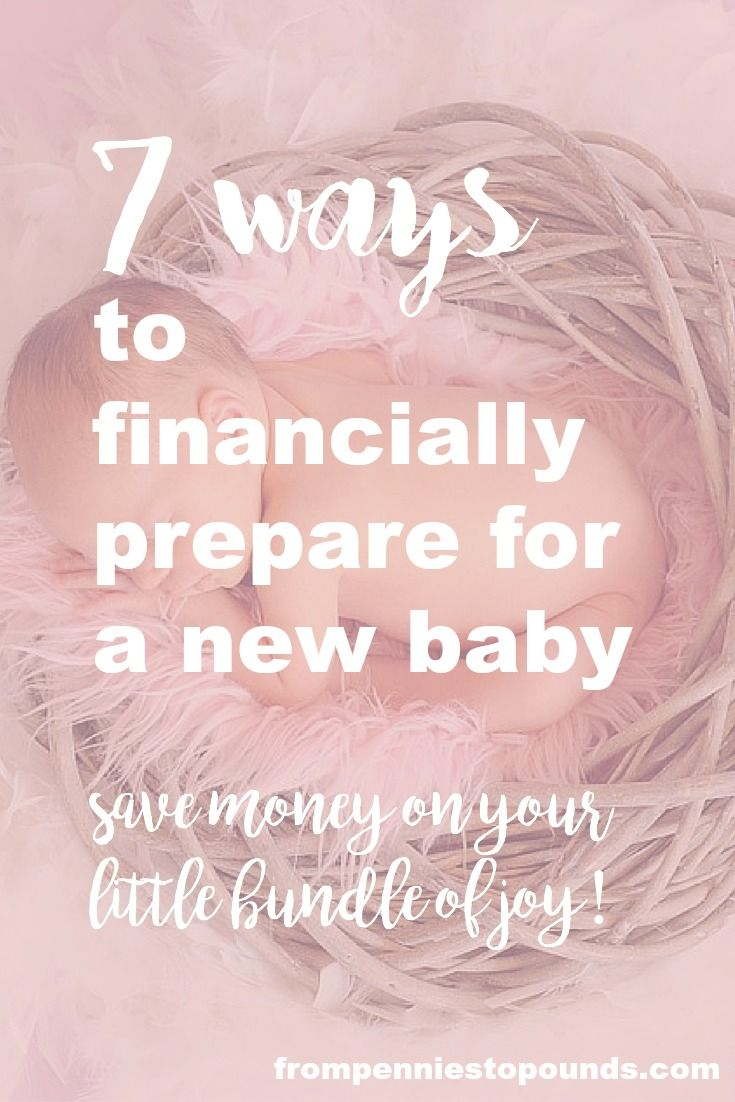 7 ways to financially prepare for your new baby. Everyone says that having a baby is expensive. They aren't wrong! But there are many ways that you can save yourself thousands by following some tips. http://www.frompenniestopounds.com/7-ways-to-prepare-for-a-new-baby/ Budgeting Tips   Save   Finance   Credit Card Debt   Financial Resources   Save more   Budget Help   Mum life   Frugal living   Debt Free Living   Money Management   Saving Tips
