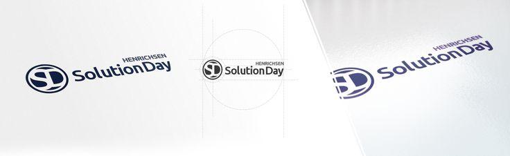 Logo-Design und Branding für HENRICHSEN SolutionDay - dem zentralen Kunden- und Interessententag des IT-Unternehmens.