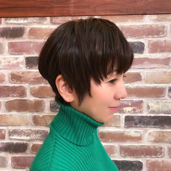 ヘアカタ 渡辺満里奈 短い髪のためのヘアスタイル ヘアスタイリング