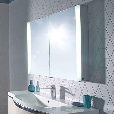 Roper Rhodes Perception Recessible Illuminated Mirror Cabinet - PE1000
