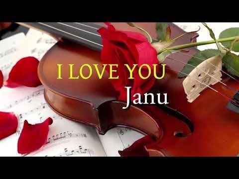 ♥️I love you janu ✔ beautiful song WhatsApp video status Whatsapp love status || by status clip - YouTube