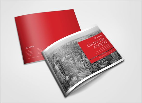 annual report template free download