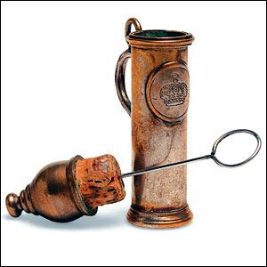 Victorian Smelling salts -- Maybe it was the tight corsets, but fainting was a common problem for Victorian women.    Police constables would carry salts made from a strong ammonia solution, in a whistle-sized container, to wake them up.