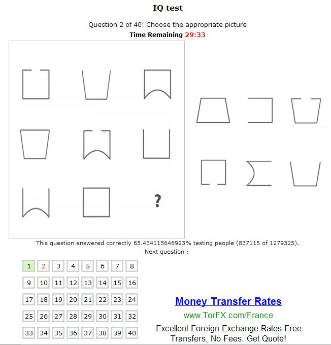 Tiptop Globe Free IQ Test Online Ideas for the House Pinterest - aptitude test free