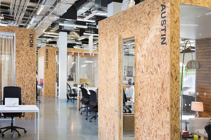 heneghan peng creates open collaborative spaces for airbnb dublin office - designboom | architecture & design magazine