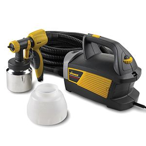 The Wagner Control Spray Max Finishing Sprayer stains, seals, varnishes, or sprays interior latex paint on your next project with power and control.