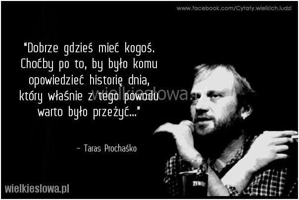 Dobrze gdzieś mieć kogoś... #Prochaśko-Taras,  #Relacje-międzyludzkie