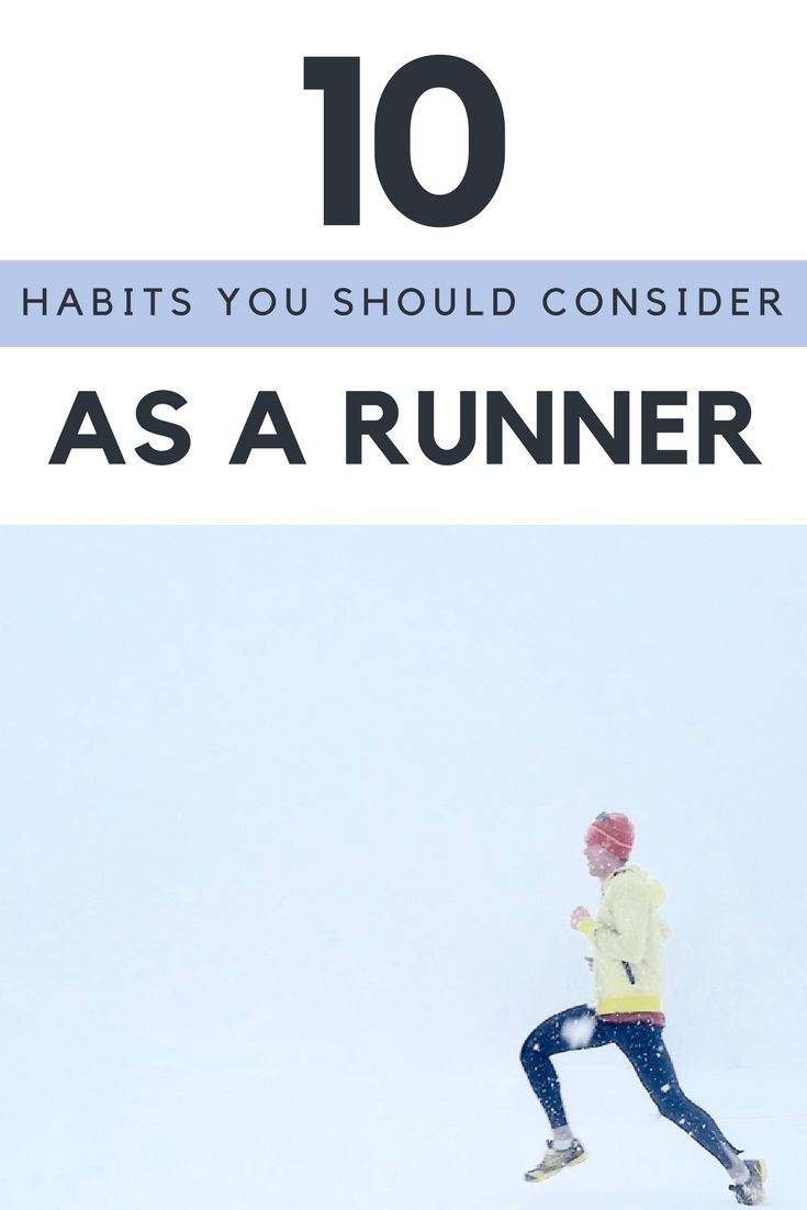 Running is not just running. Learn these habits and how they help you to improve your running.