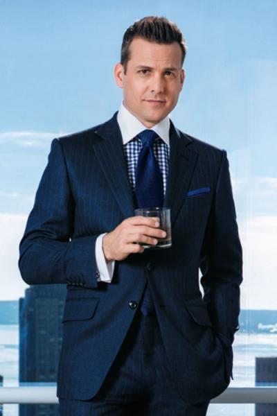 Harvey Specter for Ballantine 's commercial spot