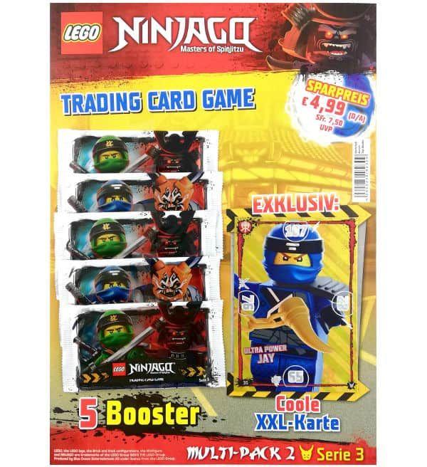 Lego Ninjago Serie 3 Multi Pack 2 Xxl Karte Ultra Power Jay Lego Ninjago Lego Ninjago