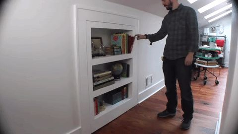 How to Make a Bookcase That's Also a Secret Door