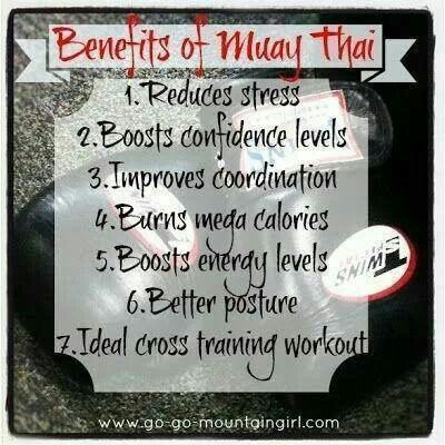 Benefits of Muay Thai Try our women's kickboxing class today! www.rysemma.com #ryseup